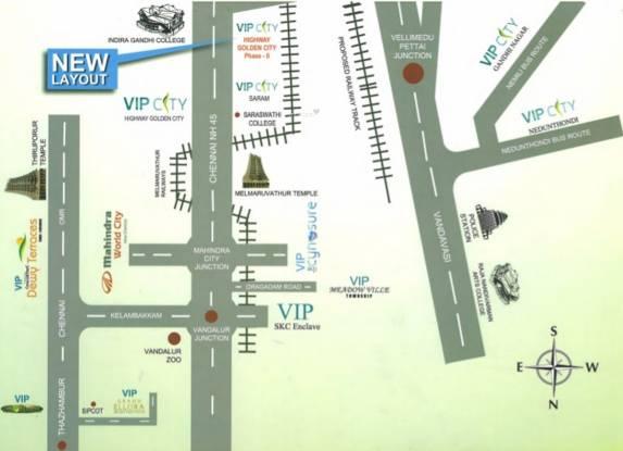 VIP Golden City Phase II Location Plan