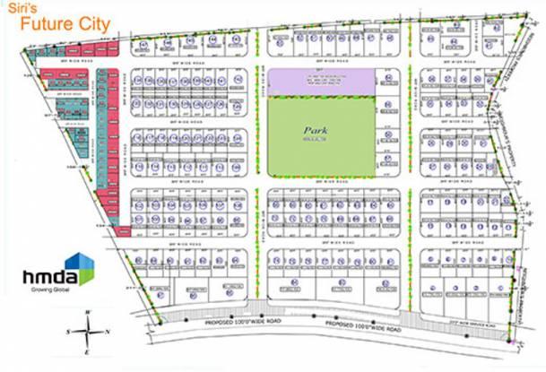 Siri Future City Layout Plan
