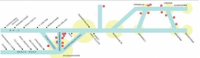 Sukhibhava Swagruha Phase I Location Plan