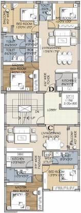 Tirumala Tiru Casa Cluster Plan