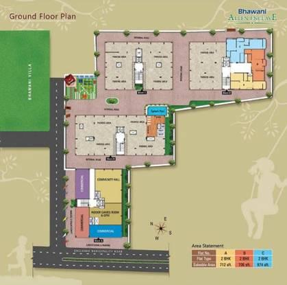 Bhawani Allen Enclave Cluster Plan