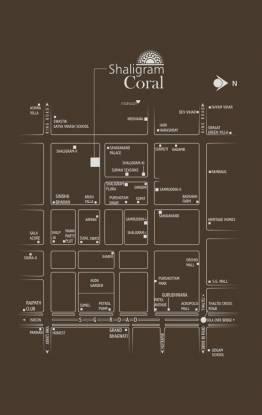 Shaligram Group Coral Location Plan