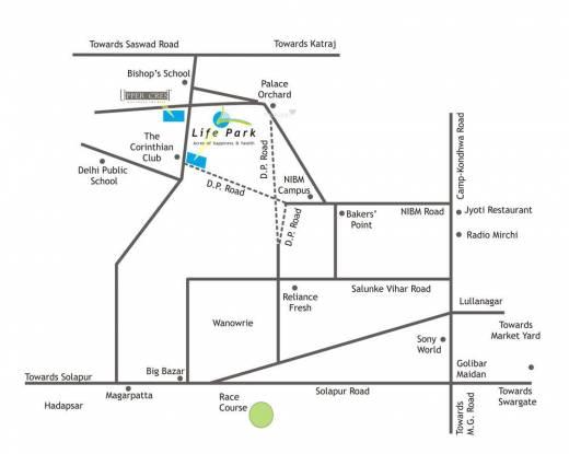 Ram Life Park Location Plan