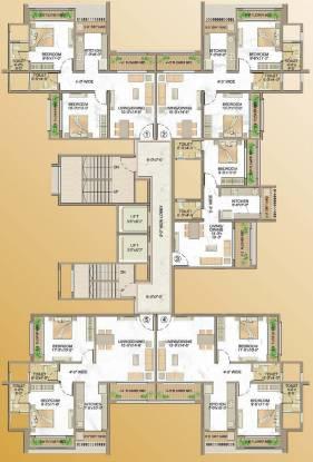 Rite Luxuria Cluster Plan