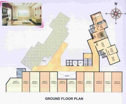 Yash Anandi Avenue Cluster Plan