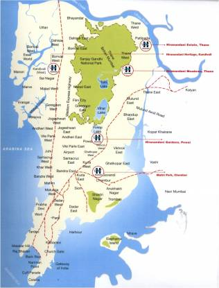 avalon Images for Location Plan of Hiranandani Developers Avalon