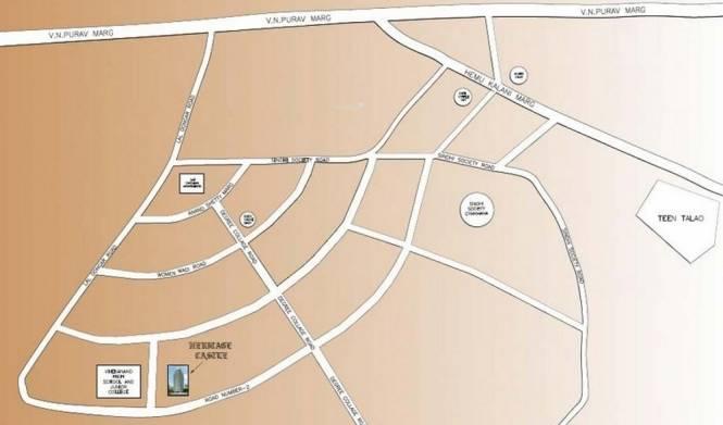 Heritage Castle Location Plan