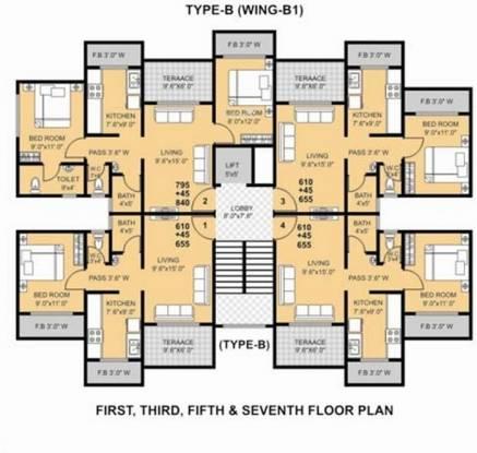 MK Gauri Estate Cluster Plan