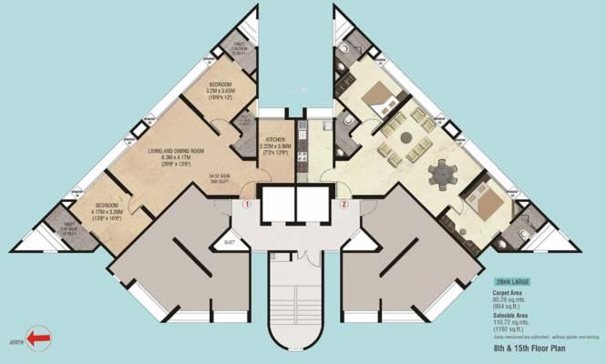 Godrej Garden Enclave Cluster Plan