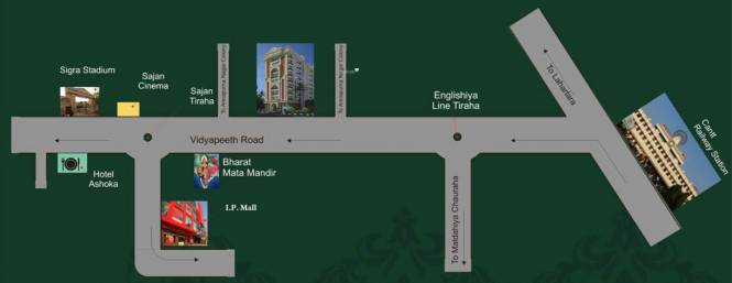 Images for Location Plan of Rudra Real Estate Prestige