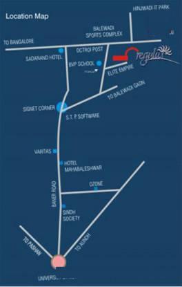 Kunal Regulus Location Plan
