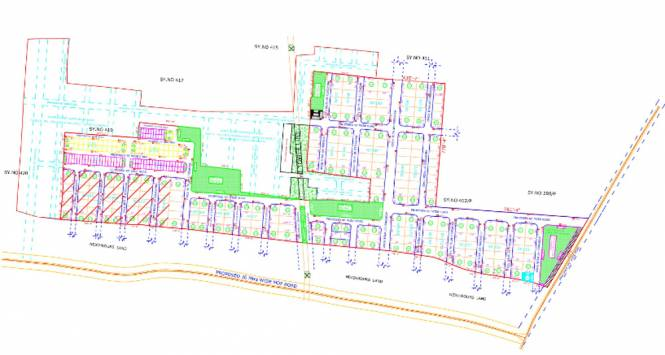 Aparna Western Meadows Layout Plan