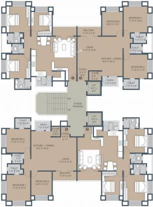 Sangini Gardenia Cluster Plan