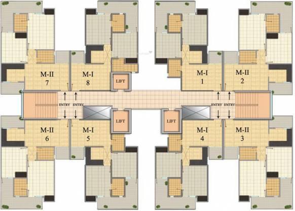 Images for Cluster Plan of SKA Green Mansion