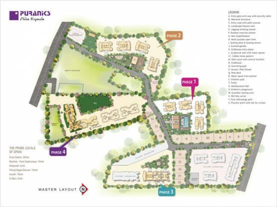 Puraniks Aldea Anexo Master Plan