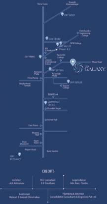Venkatesh Oxy Galaxy Location Plan