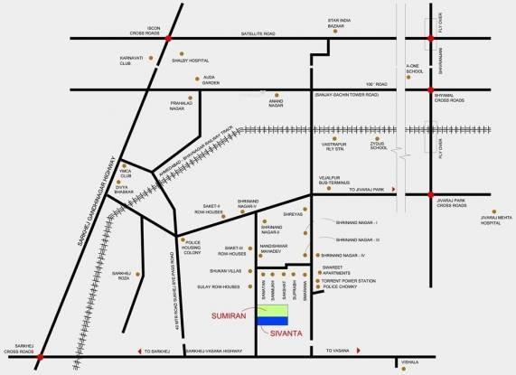 Bakeri Sivanta Location Plan