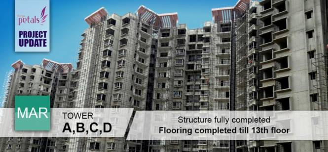 Durga Projects And Infrastructure Petals Construction Status