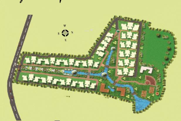 Trendz Whispering Woods Layout Plan