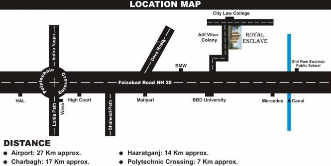 Polaars Royal Enclave Location Plan