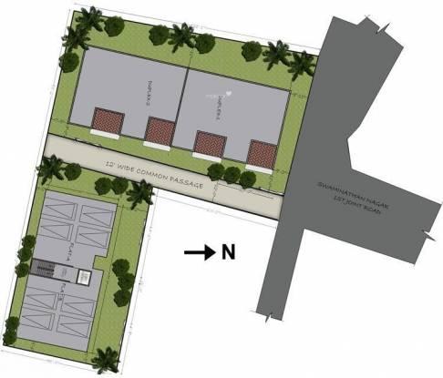 Sumanth Sreshta Swaminathan Nagar Villa Site Plan