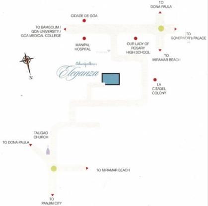 Adwalpalkar Eleganza Location Plan