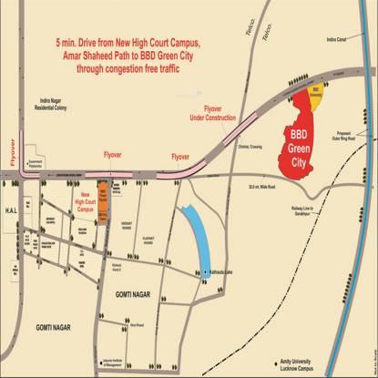 Viraj Sun Breeze 2 Location Plan