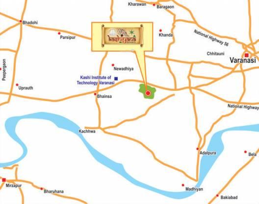Shine Kashiyana Location Plan