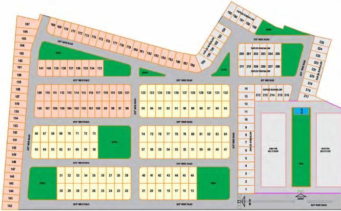 Ishaan Park Villa Site Plan