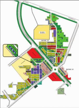TDI Wellington Heights II Layout Plan