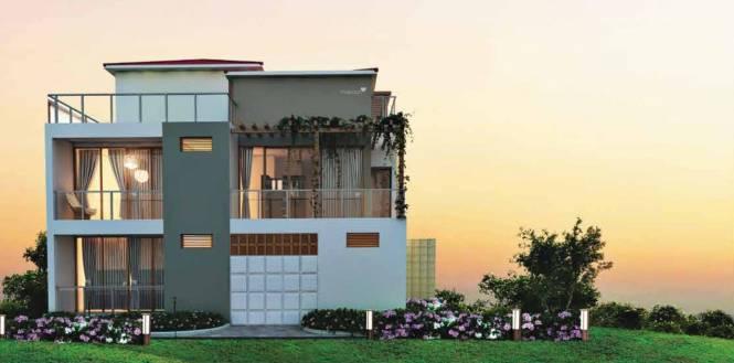Adventz Zuari Garden City Villa Elevation