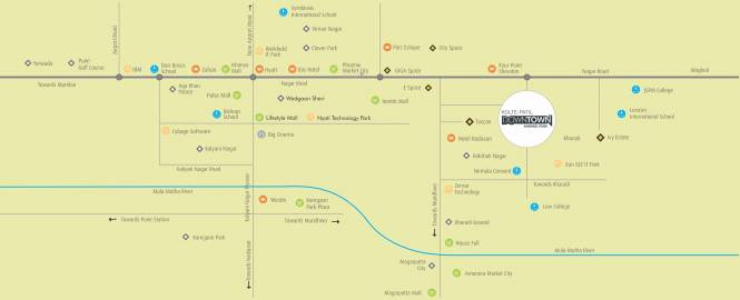 Kolte Patil Xenia Location Plan