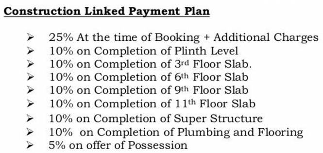Pacifica North Enclave Payment Plan