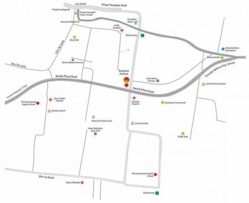 Sukhwani Kingston Avenue Location Plan