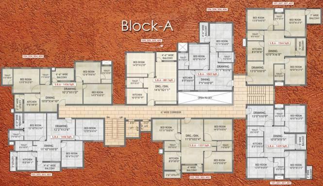 Essen Raj Manohar Residency Cluster Plan