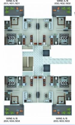 Pushkar Spring Garden Phase 2 Cluster Plan