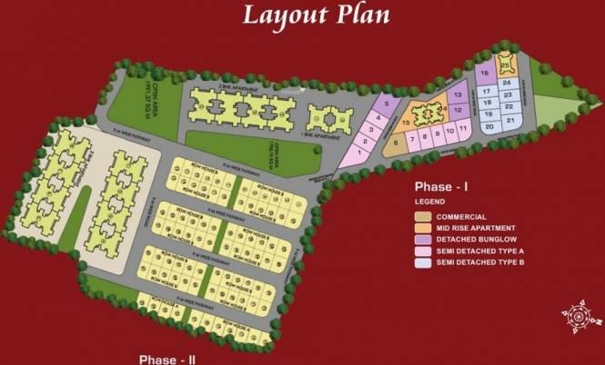 Pushkar Spring Garden Phase 2 Layout Plan