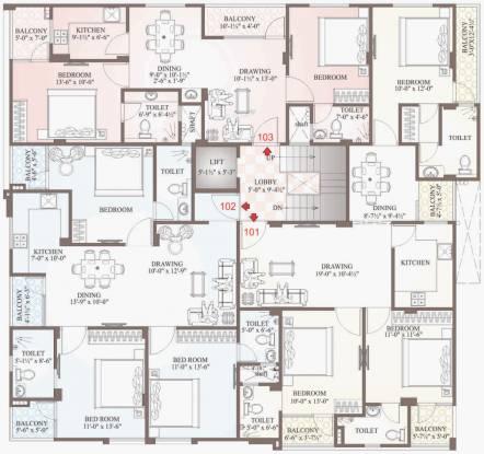 Uttam Shiv Cluster Plan