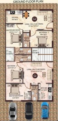 Himayam Annapoorna Apartments Cluster Plan
