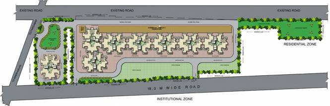 SRS Hightech Affordable Homes Site Plan