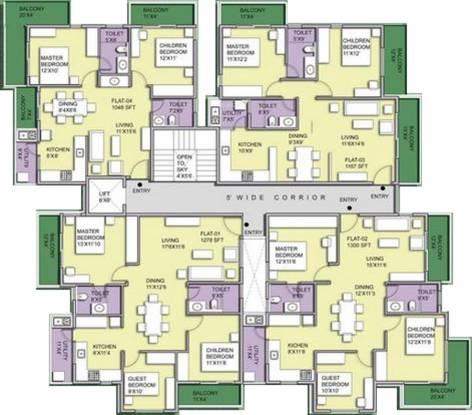 Pristine Woods Cluster Plan