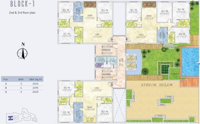 Jain Dream One Cluster Plan