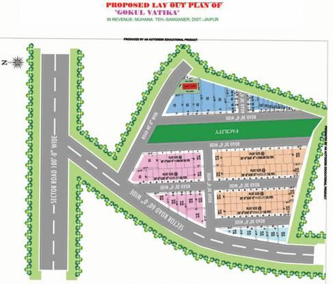 Gokul Kripa Vatika Layout Plan