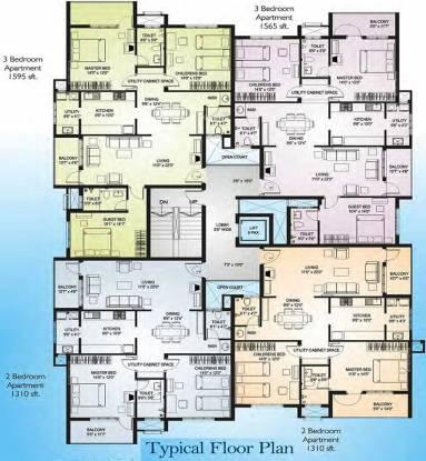 Nirmaan Bhargavi Gloria Residency Cluster Plan