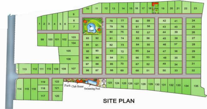 Right RMY Residency Site Plan