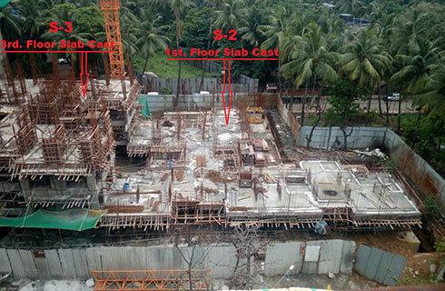 Godrej Prime Construction Status