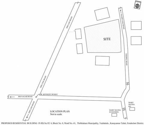 Jewel Radius Location Plan