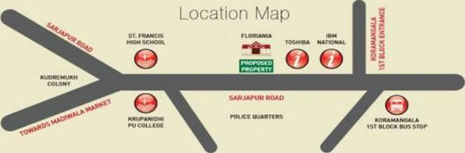 Kolte Patil 24K Grazio Location Plan