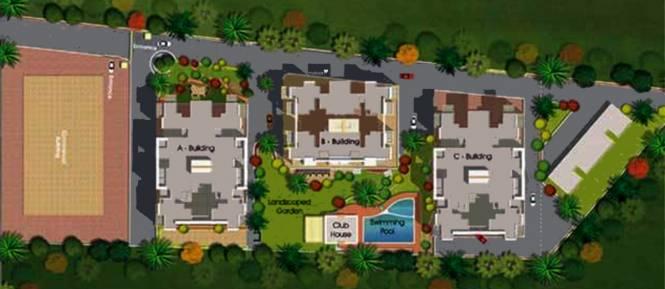 Paranjape Camellia Apartment Master Plan