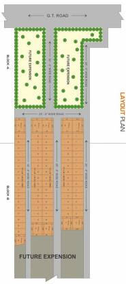 Laxis Infrastructure Pvt Limited Melax Studio Plots Layout Plan